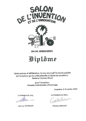 diplome inovation houssiver